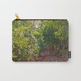 The curve in the rail Carry-All Pouch