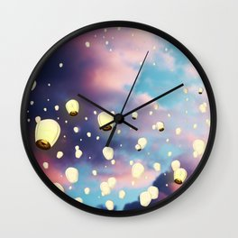 The Soul's Journey Wall Clock