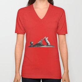 Plane Unisex V-Neck