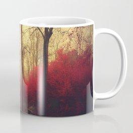 Ruby Red Forest Coffee Mug