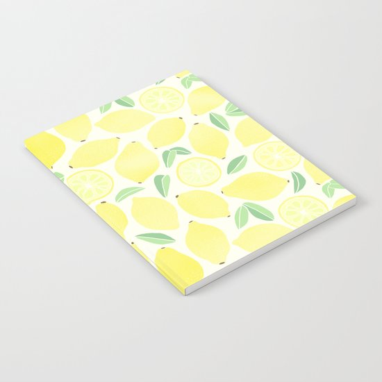 Summer Lemons Notebook