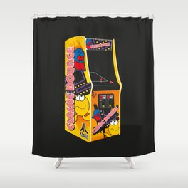 Mum, can I have 10p for another go? Shower Curtain
