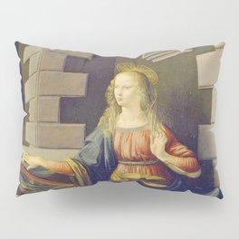 "Leonardo da Vinci ""Annunciation 2."" Pillow Sham"