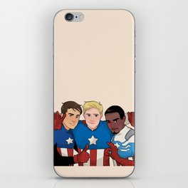 Cap Cubed Part Two iPhone Skin