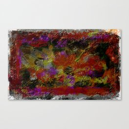 Abstract Colors in Evidence Canvas Print