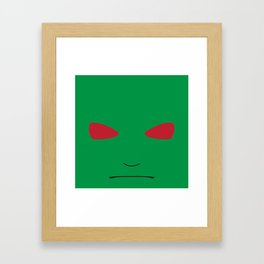 MartianCube Framed Art Print