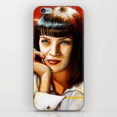 Mia Thurman iPhone & iPod Skin
