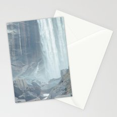 Mist Falls in Yosemite National Park Stationery Cards