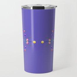 Pool Game Design Travel Mug