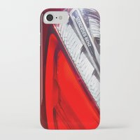 mercedes iPhone & iPod Cases featuring Mercedes-Benz SL 63 AMG Bi-Turbo Back Light by Mauricio Santana