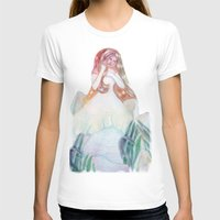 bianca T-shirts featuring fata bianca by Francesca D'Angelo