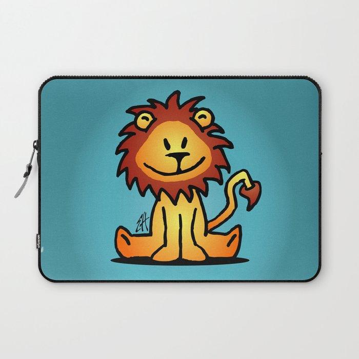 Cute little lion Laptop Sleeve