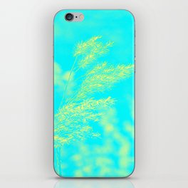 nature -yallow turquoise iPhone Skin