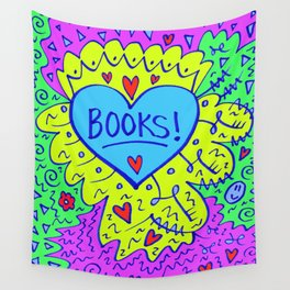 Books! Wall Tapestry