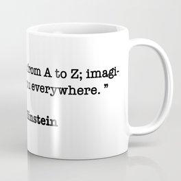 Albert Einstein Quote Coffee Mug