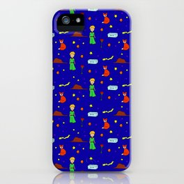 """The Little Prince"" Pattern iPhone Case"