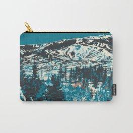 Park City Vintage Ski Poster Carry-All Pouch