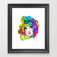 Violent Bright Framed Art Print