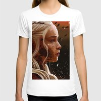 mother of dragons T-shirts featuring Mother of dragons by cloudyh