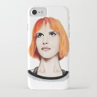 hayley williams iPhone & iPod Cases featuring Hayley Williams by Jayde Tayla