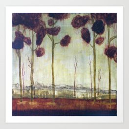 tree study five Art Print
