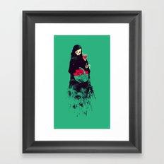 Death Valentine Gift Framed Art Print