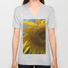 Sunny Sunflower  Unisex V-Neck