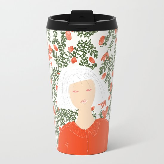 I Want To Hold Your Hand Metal Travel Mug