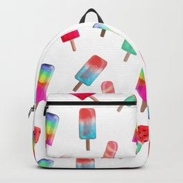 Watercolored Popsicles Backpack