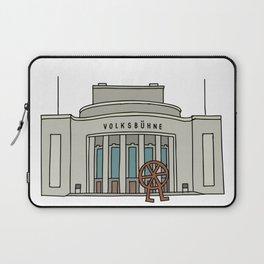 Volksbühne. Theater in East-Berlin Laptop Sleeve