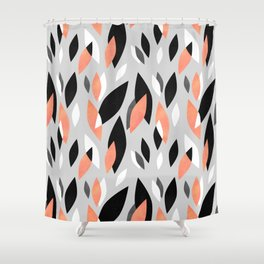 Falling Leaves Pattern Shower Curtain