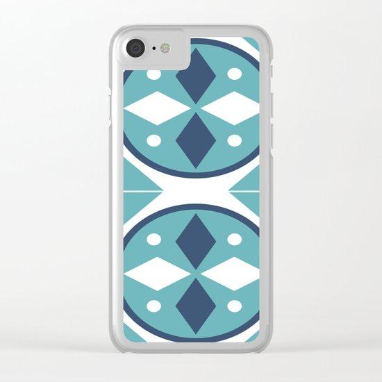 Azulejos Portugal 2 Clear iPhone Case