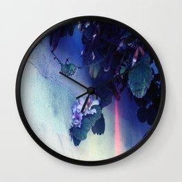 Purple Flower aka Pretty Poison  Wall Clock
