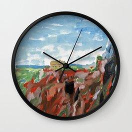 Cerro del Hierro Wall Clock