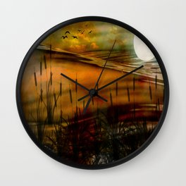 Aura Of Tranquillity Wall Clock