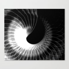 Spinning Shadows Canvas Print