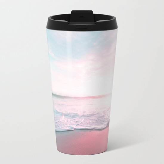 Ocean Love Metal Travel Mug