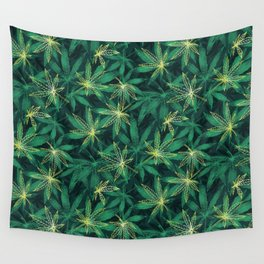 Leaf Your Worries Behind  Wall Tapestry