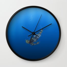 Another Side Another Story Wall Clock