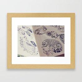 Nancy Drew Framed Art Print