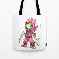The Deadliest Ninja Warrior Tote Bag