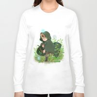 hetalia Long Sleeve T-shirts featuring Albion by kitkatkatee