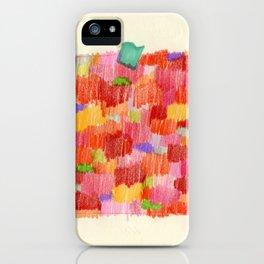 delicious colour iPhone Case