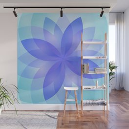 Abstract Lotus Flower G303 Wall Mural
