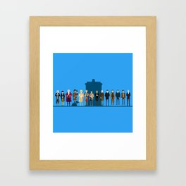 THE DOCTORS WILL SEE YOU NOW Framed Art Print