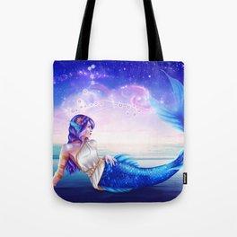 Pisces OC - 12 Zodiac Ladies Tote Bag