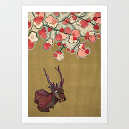 It's Better in the Shade Art Print