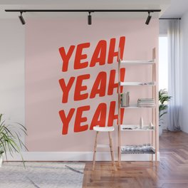 Yeah Yeah Yeah Wall Mural