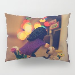 The Girl in the Purple Cloak Pillow Sham