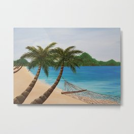Wanna go? Metal Print